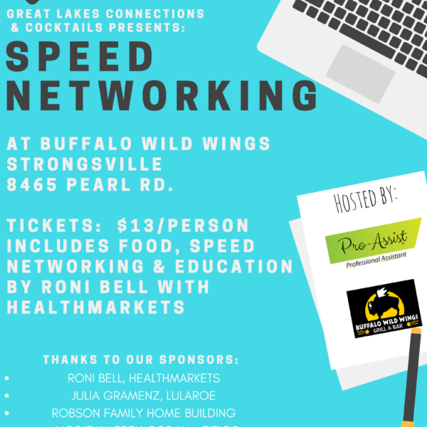Strongsville Speed Networking Event